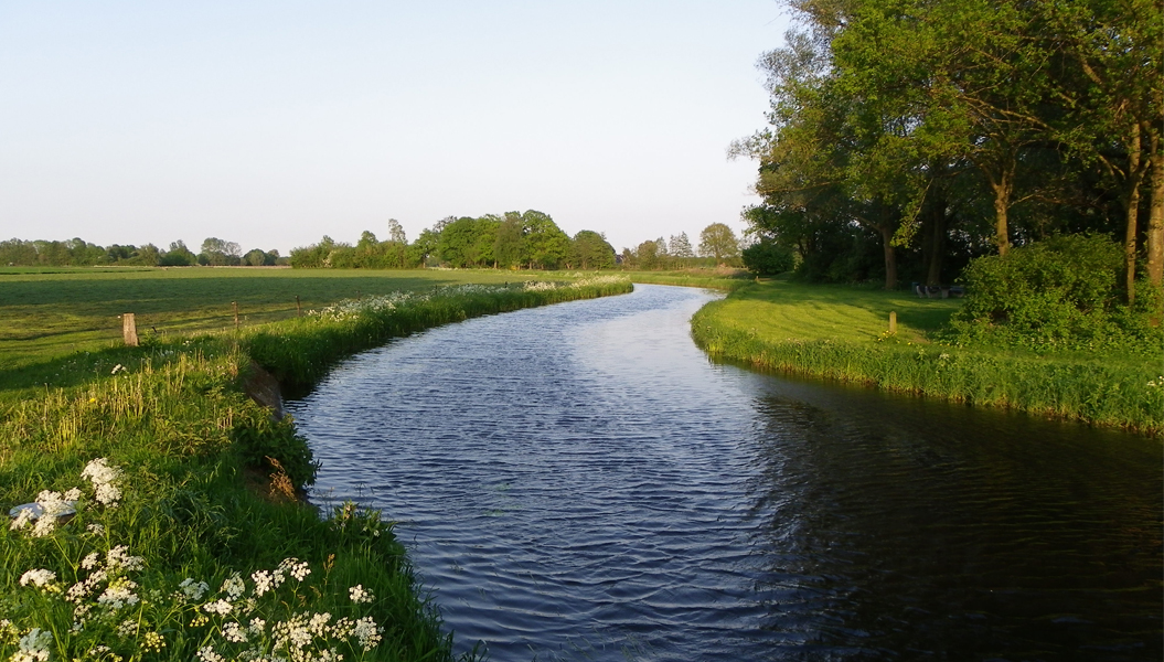 Waterlandschap in de Achterhoek